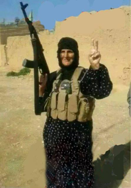 Grandmother in Amerli Defends against Islamic State