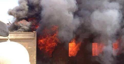 Islamic State Burns the Catholic Church in Mosul