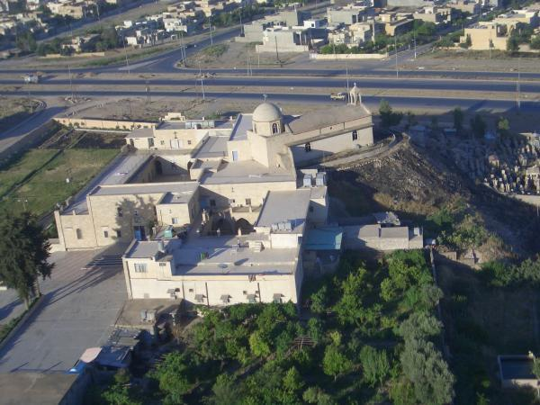 St Georges Monastery, Mosul  - Destroyed by Islamic State