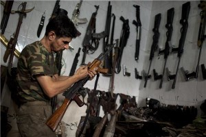 A Gun Seller in Opposition Held Aleppo