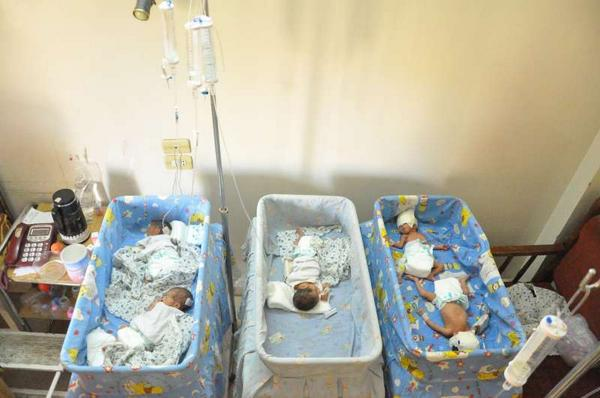 Hoorah! Five New Born Yezidi Quintuplets