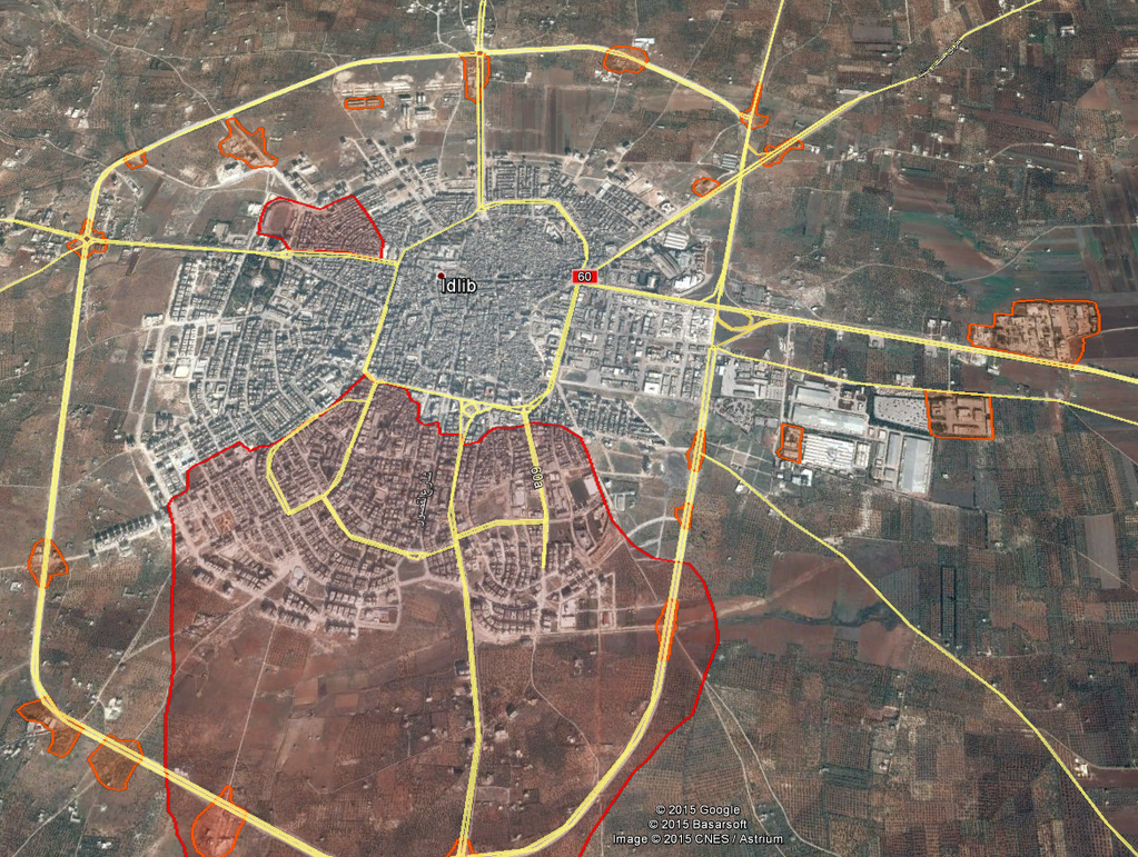 IDLIB UPDATE ASSADS FORCES IN HUMILIATING COLLAPSE CITY NOW