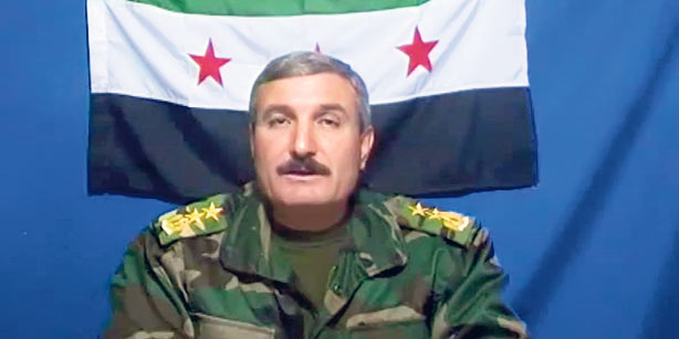 Riad Al-Asaad While in Command of the FSA
