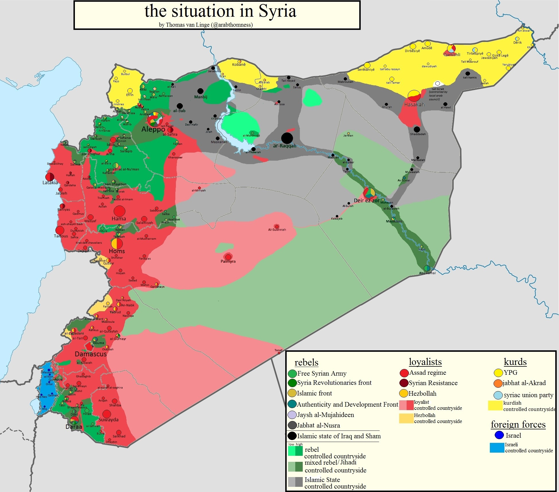 the syria situation Let us start 100 years back so after the fall of ottoman empire who ruled middle east , four countries were formed  they were saudi arabia, iran, iraq and syria.